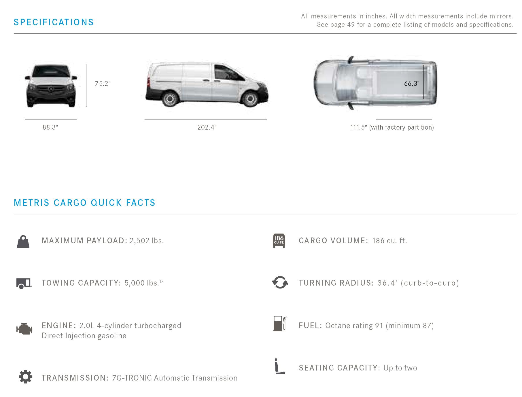 Metris Cargo Specs Mercedes Benz Of Birmingham Mb Engine Diagram