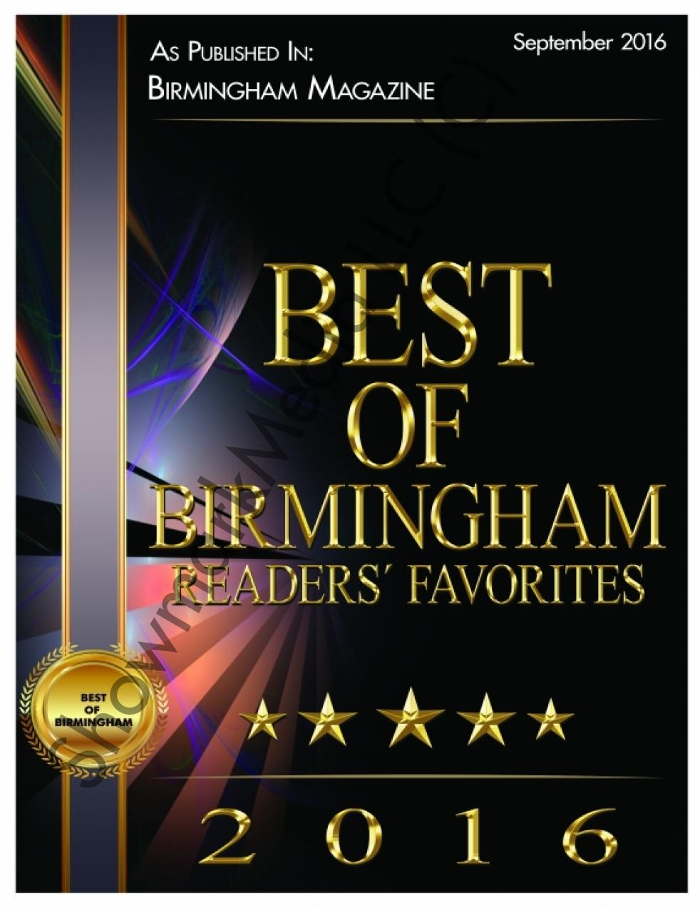 Best of Birmingham 2016