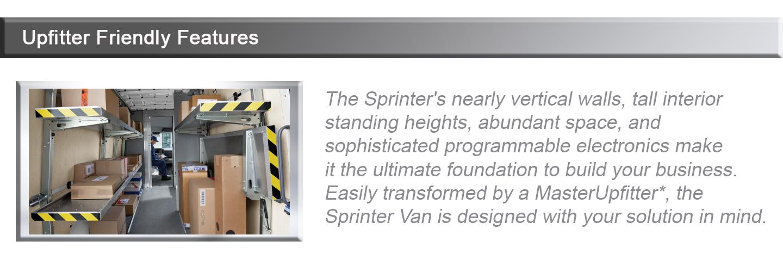 Upfitter Friendly Features | Mercedes-Benz of Birmingham