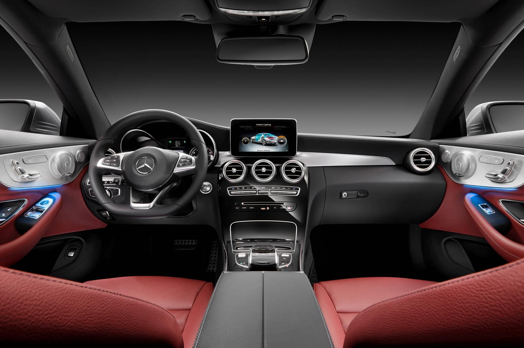 2017 Mercedes Benz C300 Coupe Interior Mercedes Benz Of Birmingham