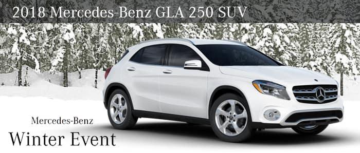 2018 GLA 250 SUV
