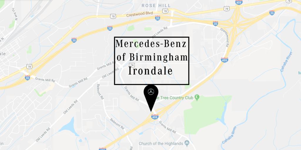 Irondale Map