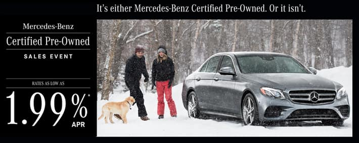 2019 Mercedes-Benz Winter CPO Event