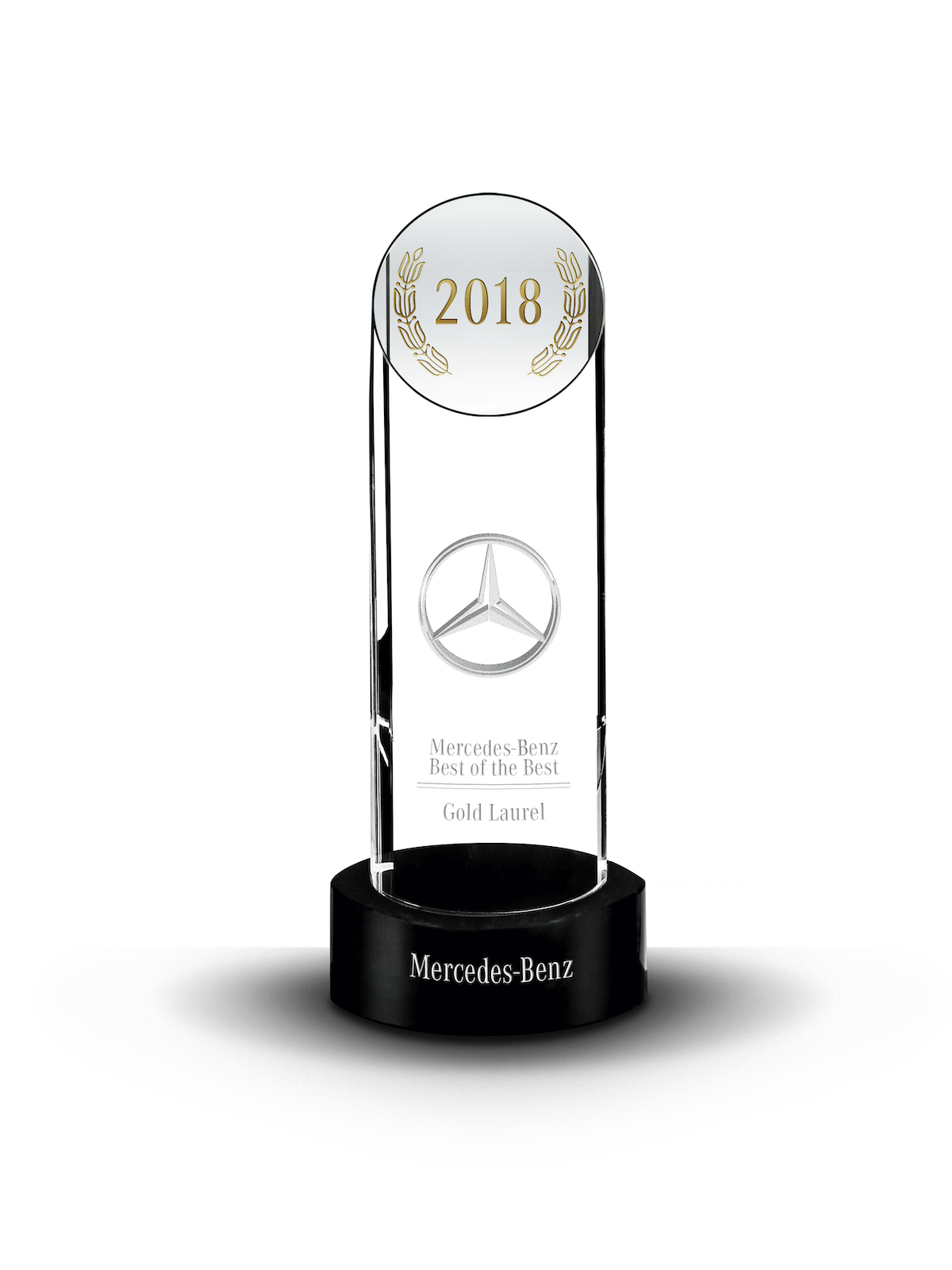 2018 Mercedes-Benz Best of the Best Gold Laurel Award