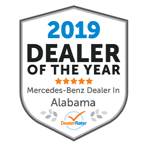 2019 DealerRater Alabama Mercedes-Benz Dealer of the Year