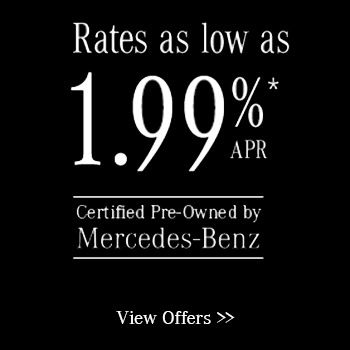 Mercedes-Benz Certified Preowned Specials