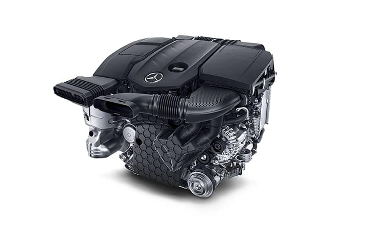 2020 GLE 350 Engine