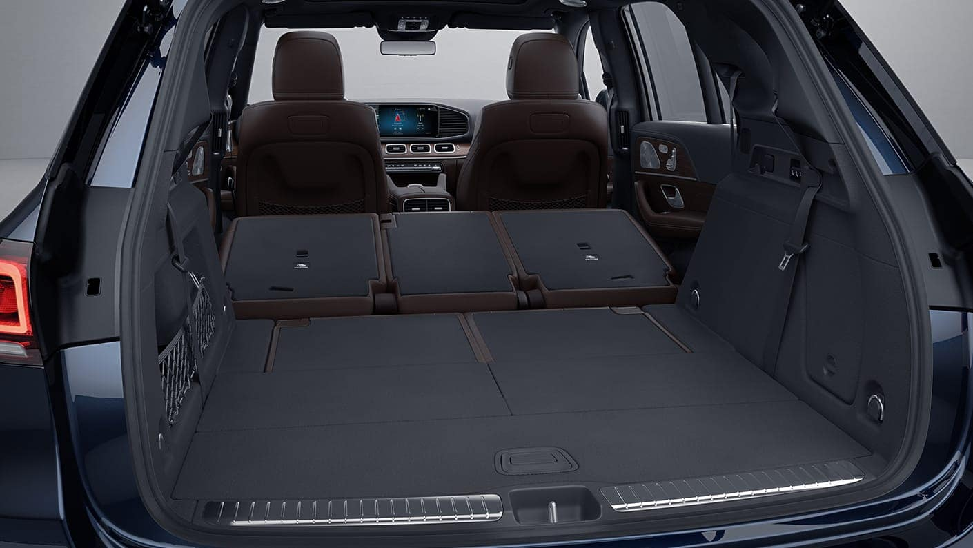 2020 GLE Rear Cargo Room