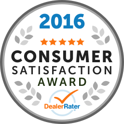 2016 Consumer Satisfaction Award