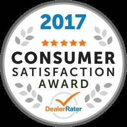 2017 Consumer Satisfaction Award