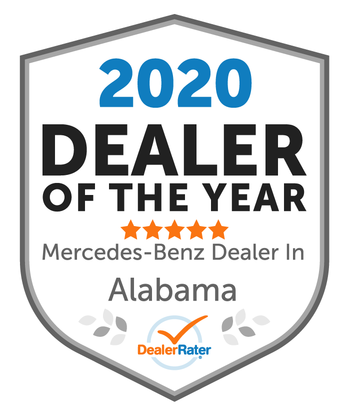 2020 DealerRater Alabama Mercedes-Benz Dealer of the Year