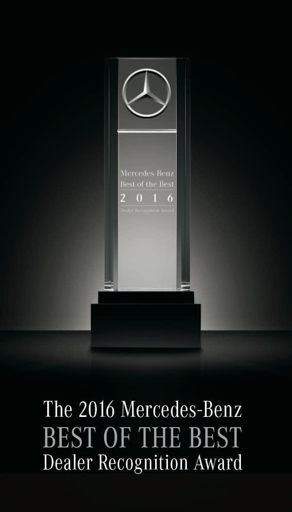 2016 Mercedes-Benz Best of the Best Award
