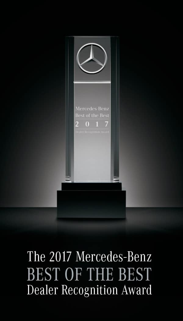 2017 Mercedes-Benz Best of the Best Award