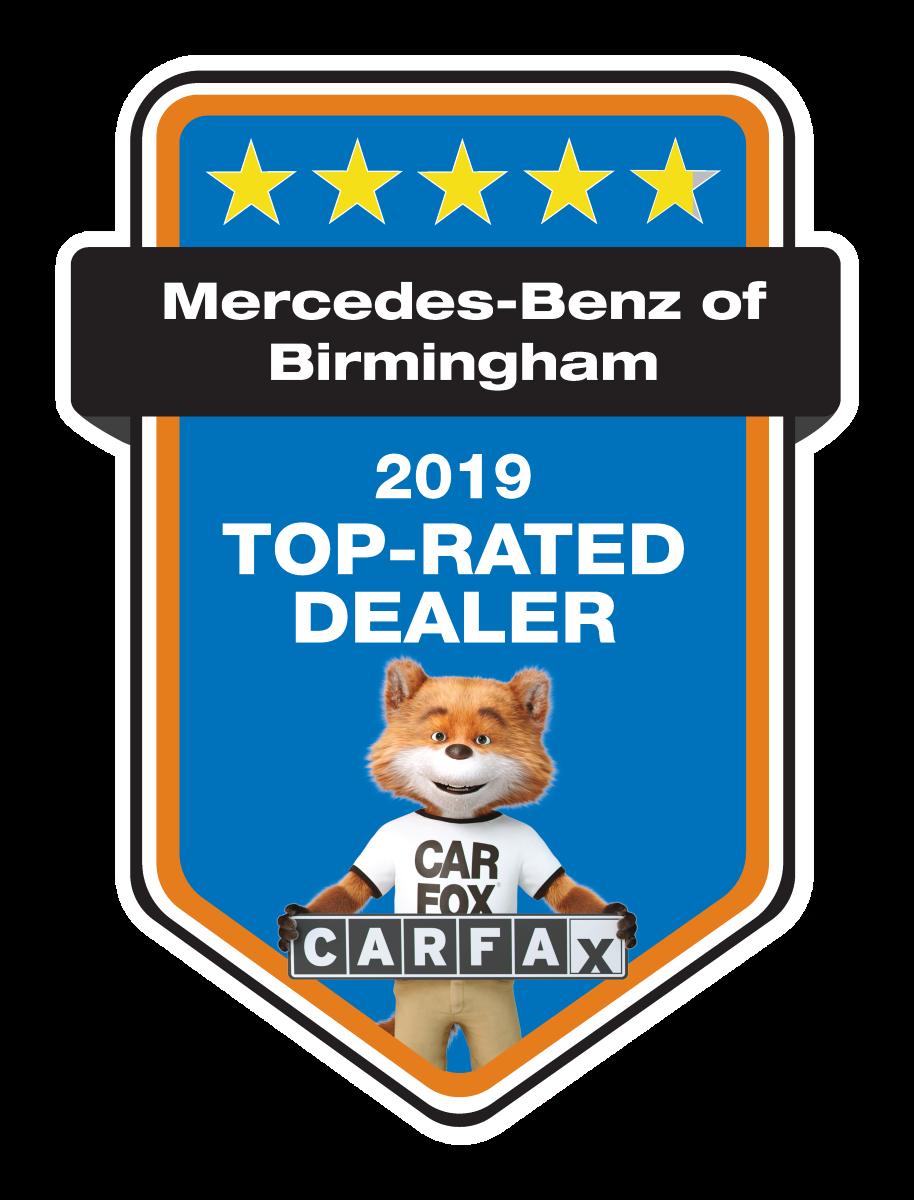2019 Carfax Top Rated Dealer Award