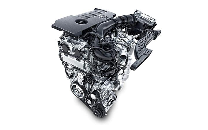 2020 GLB 250 Engine