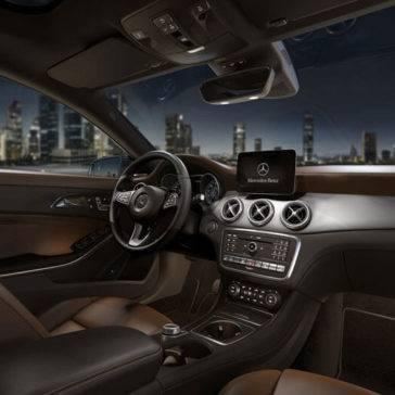 2017-mercedes-benz-cla-interior-nut-brown-leather-interior-multimedia-packages