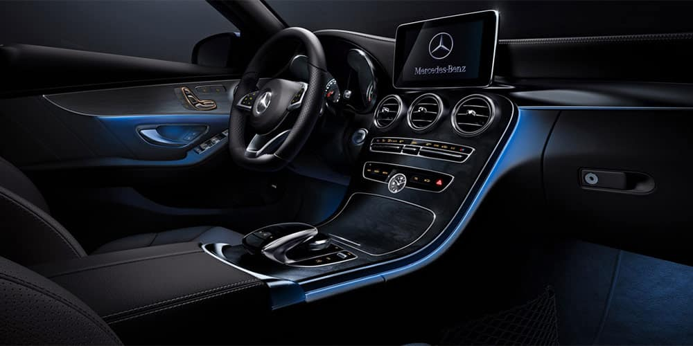 2018 Mercedes-Benz C 300 Sedan Available LED Ambient Lighting