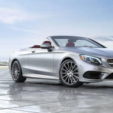 2017 Mercedes Benz S CLASS CABRIOLET silver
