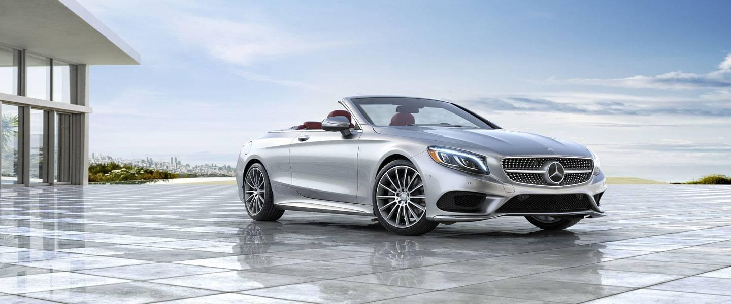 2017 Mercedes Benz S CLASS CABRIOLET silver