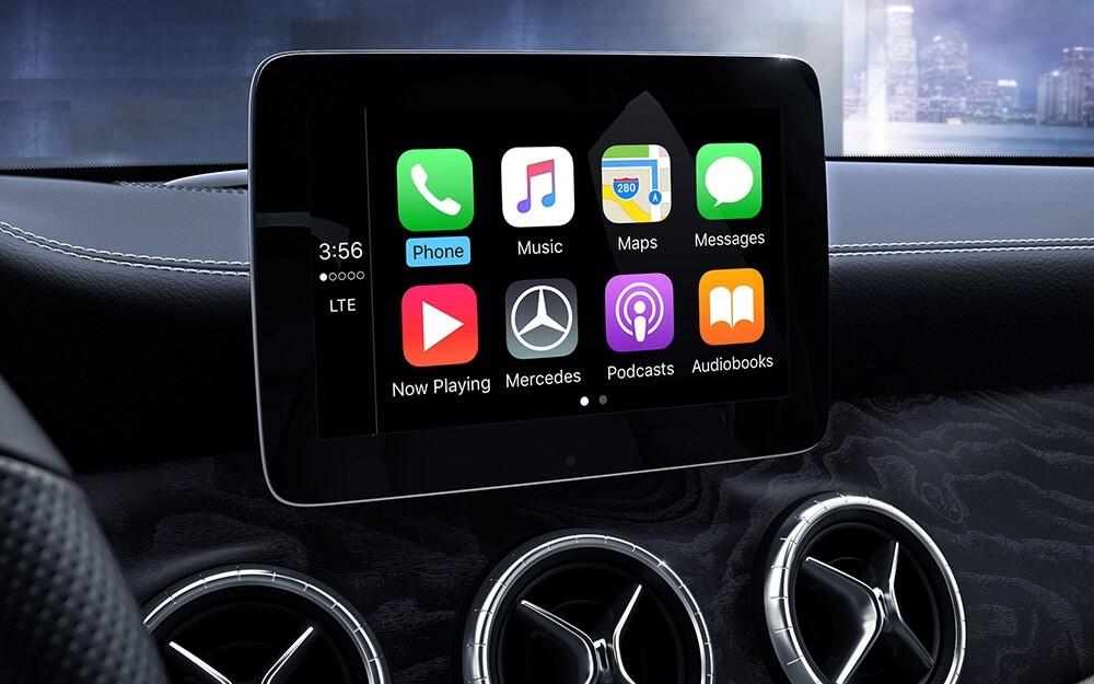 2018 Mercedes-Benz CLA 250 Interior Display Screen
