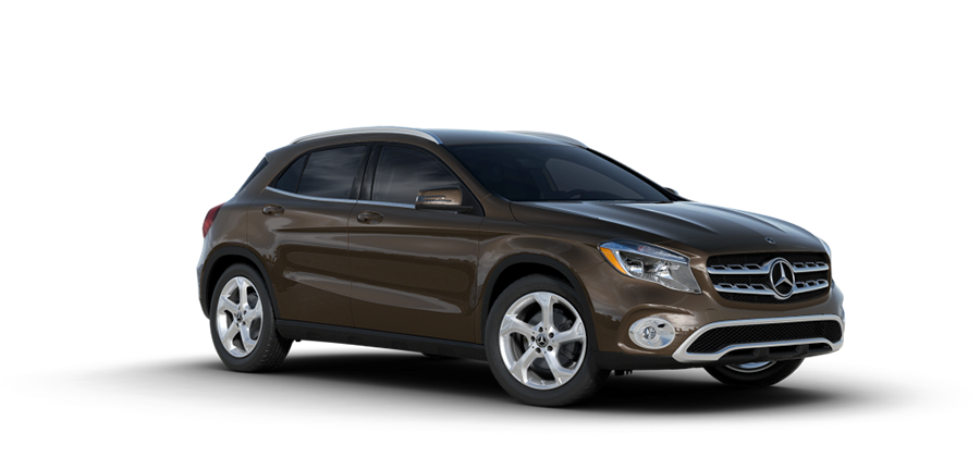 2018 MB GLA Brown