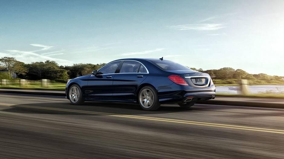 2017 mercedes benz s class s550 anthracite blue 19 inch amg twin 5 spoke wheels