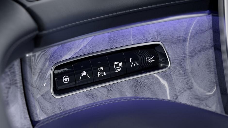 S-Class Interior Buttons