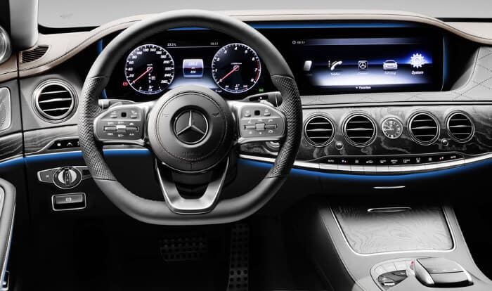 2018 Mercedes-Benz S-Class Interior dashboard