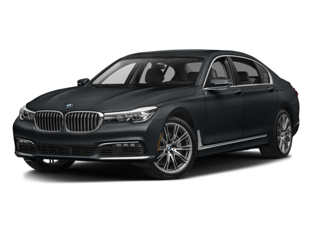 Black 2018 BMW 7 Series