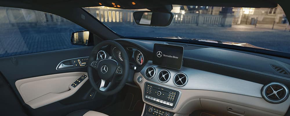 2019 Mercedes Benz GLA SUV Interior