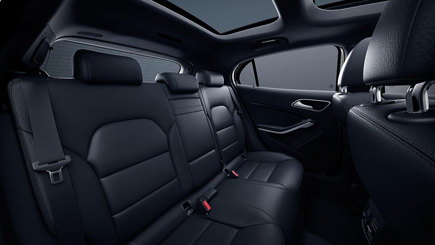 2019 Mercedes-Benz GLA seating