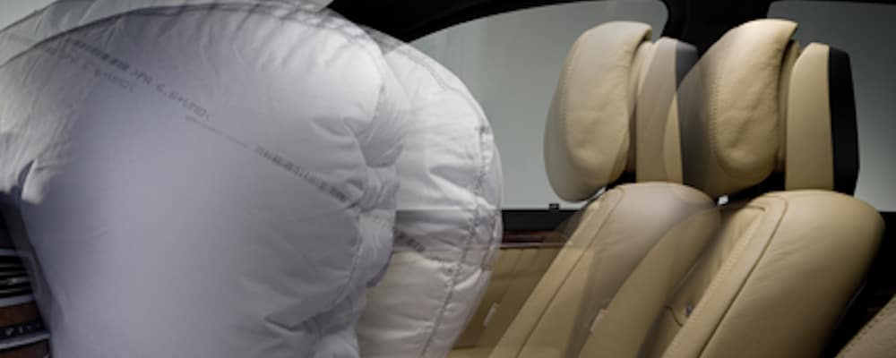 airbags deploying