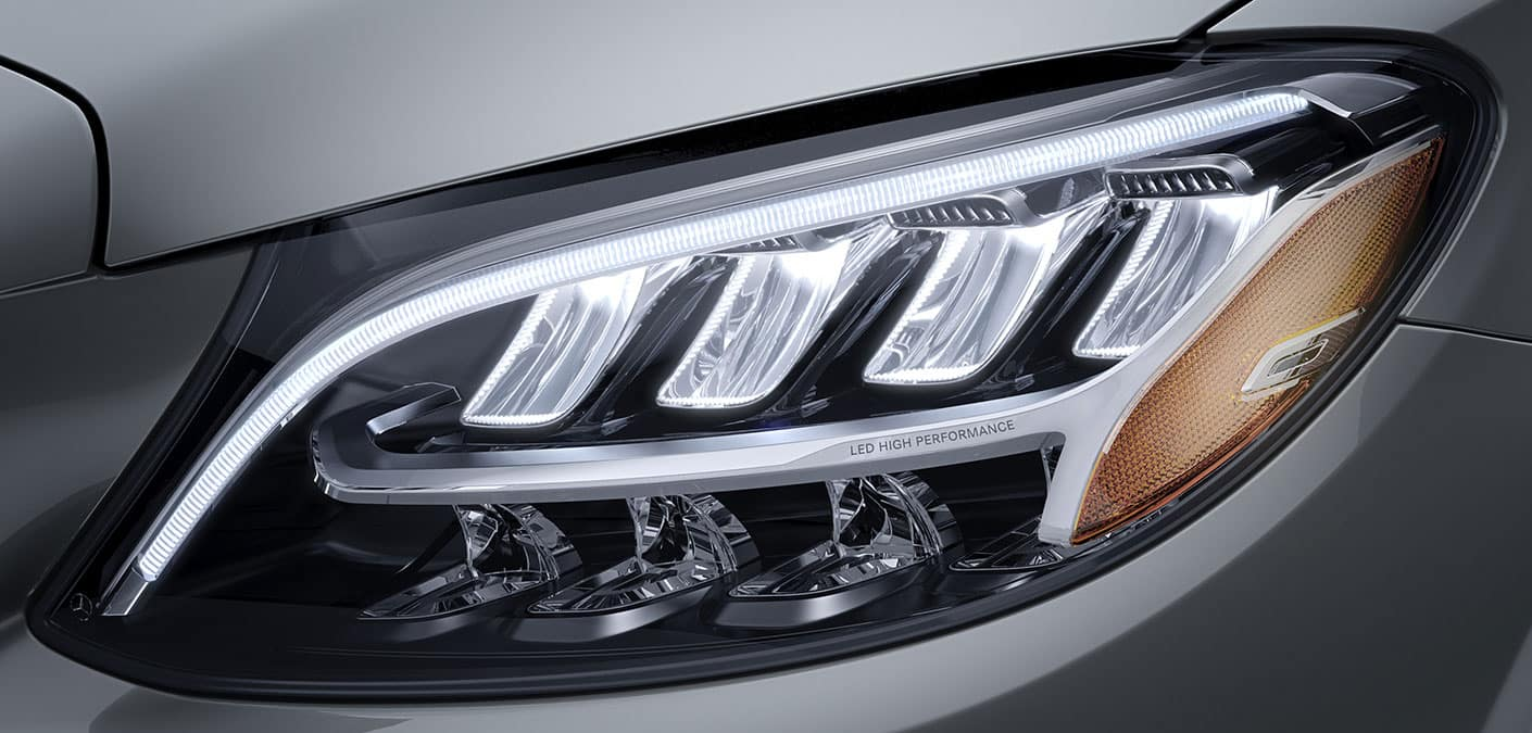 2019 Mercedes-Benz C-Class Sedan headlight
