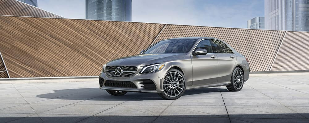 2019 Mercedes-Benz C-Class Sedan hero