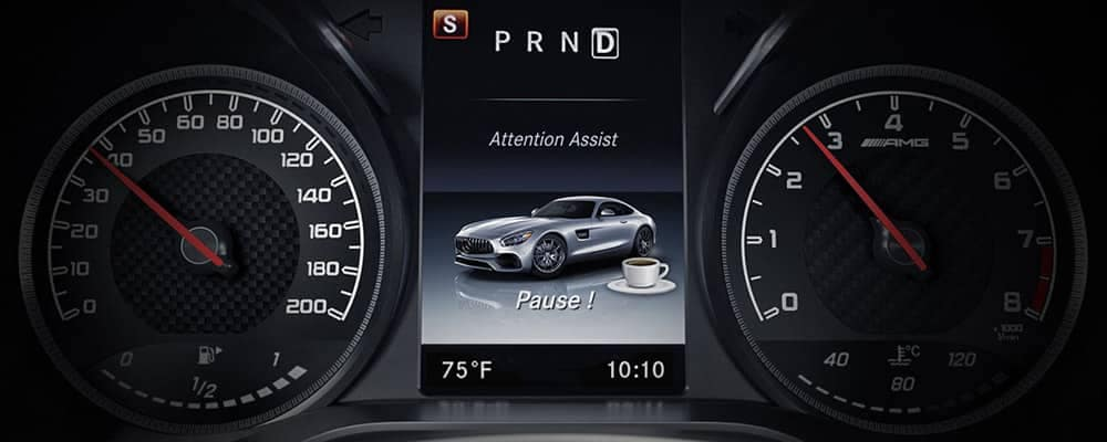2018 Mercedes-Benz AMG GT S COUPE Attention Assist Feature
