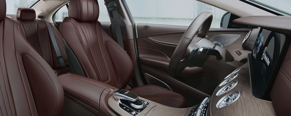 2019 cls front interior