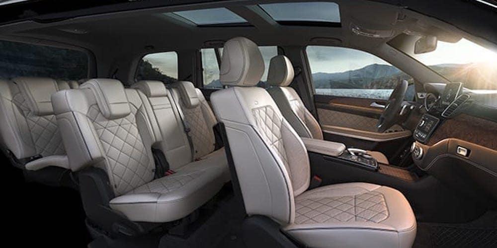 2019 gls mercedes-benz full interior view