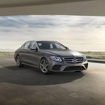 2019 MB E-Class Parked