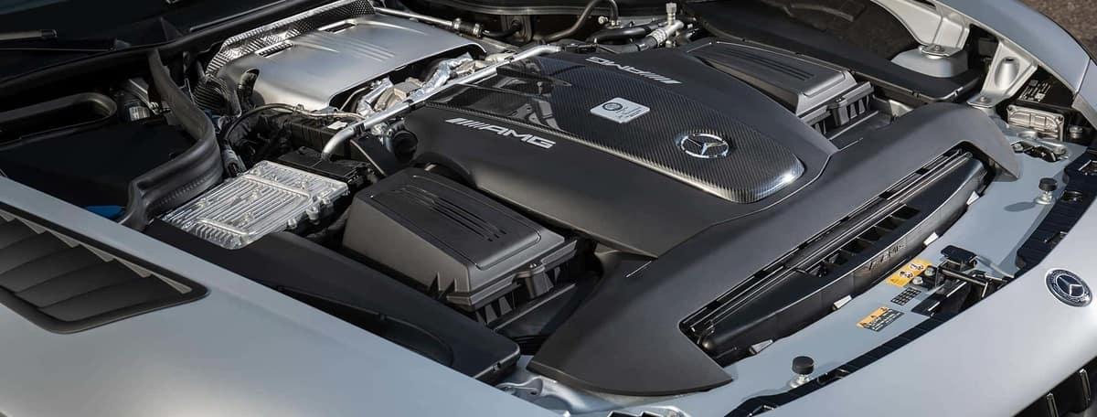 Under Mercedes-Benz AMG Hood, Engine