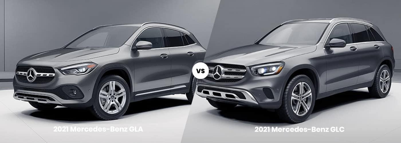 2021 Mercedes-Benz GLA vs. 2021 Mercedes-Benz GLC