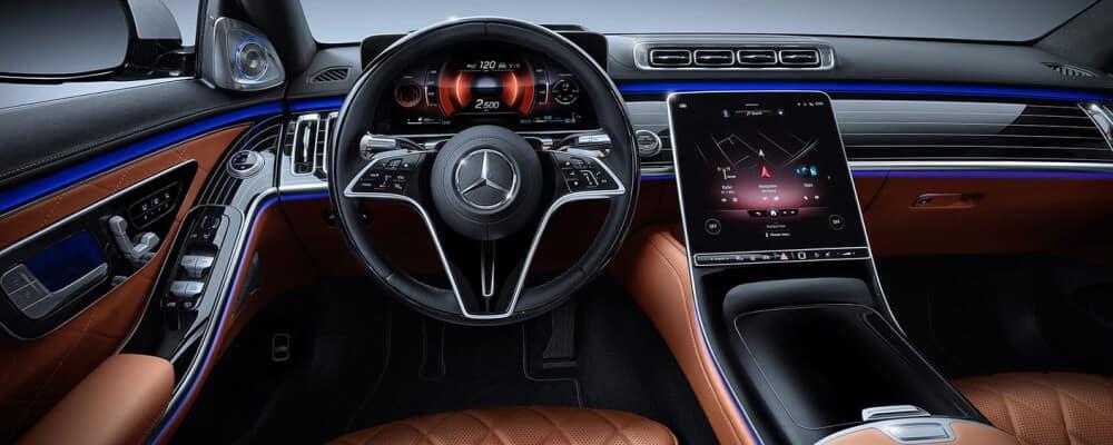 2021 Mercedes-Benz S-Class Sedan interior dashboard technology