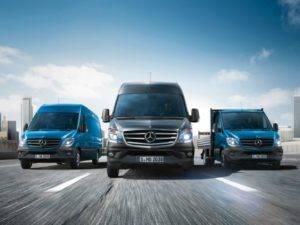 Mercedes-Benz Van Lineup