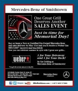 MB of Smithtown Sales Event Flyer