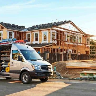 2017 Sprinter Cargo Van At Work