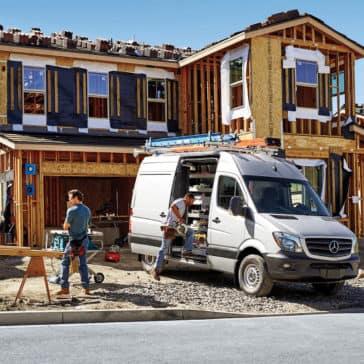 2017 Sprinter Cargo Van Jobsite