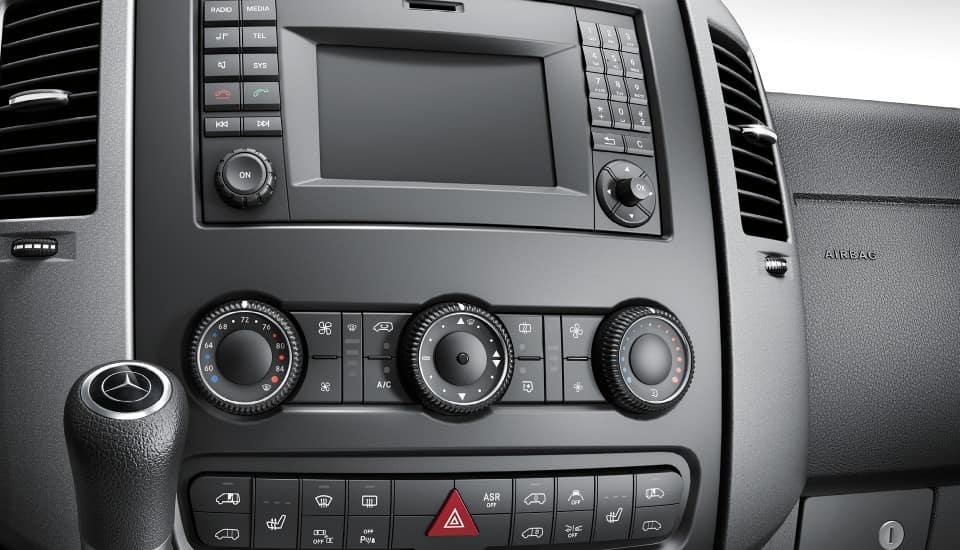 2017 Sprinter Cargo Van Audio