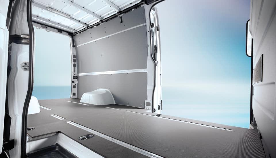 2017 Sprinter Cargo Van Space