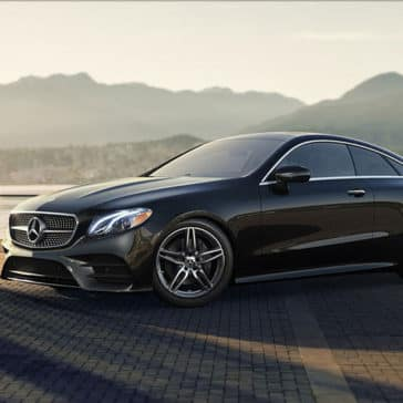 2018 MB E-Class Parked