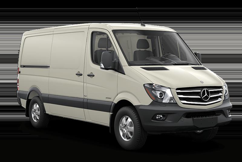 2017 Sprinter Cargo Van Tan