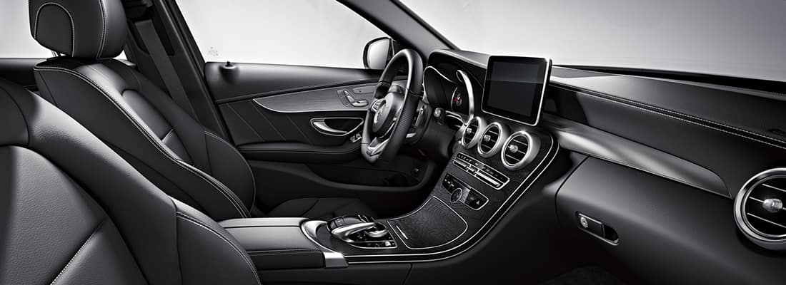How To Read Tire Information >> 2018 Mercedes-Benz C-Class Interior Specs, Space, Photos | St. James